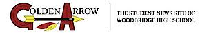 Woodbridge High School Golden Arrow Newspaper's Company logo