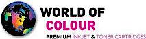 World Of Colour. Inks & Toner's Company logo