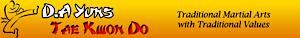Yun's Tae Kwon Do's Company logo