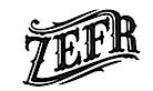 ZEFR's Company logo